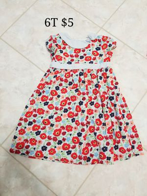 6T Janie and Jack flower dress for girls for Sale in Henderson, NV