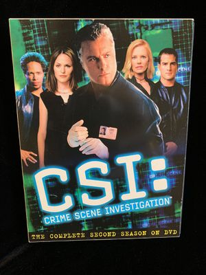 CSI show 2nd Season for Sale in Santa Ana, CA