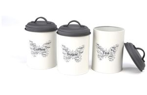 Sugar tea coffee canister 3 pcs. for Sale in Whittier, CA