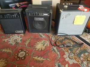 Fender Rumble 25 crate amplifier for Sale in Rockville, MD