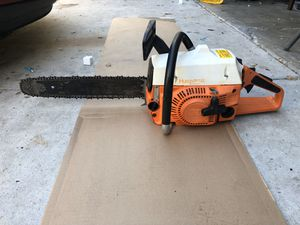 Husqvarna chainsaw for Sale in Atascadero, CA