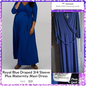 Pink Blush Plus Size Maternity dress for Sale in Elyria, OH