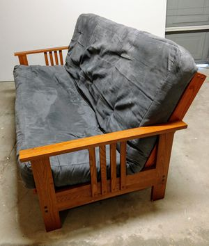 Futon, mattress size full. for Sale in Commerce Charter Township, MI