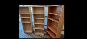 "Bookshelves 25""×12""×71""h 2pcs for Sale in Los Angeles, CA"