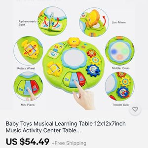 Baby Toys Musical Learning Music Activity for Sale in La Vergne, TN