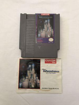 Original Nintendo Game: Disney Adventures In The Magic Kingdom Cartridge Plays Fine for Sale in Reedley, CA