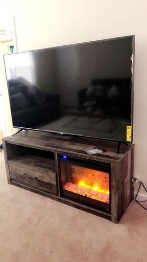 Tv stand/entertainment center/fireplace for Sale in Wilmington, DE
