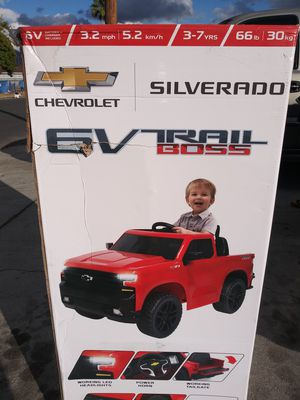 6v powerwheels silverado for Sale in San Bernardino, CA