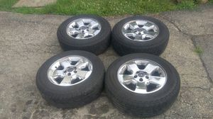 17in Ford explorer rims off a 2005 Ford Eddie Bauer for Sale in Aurora, IL