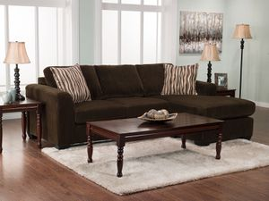 SOFT Brown Sectional Reversible $120 Cash PICK UP NOW for Sale in Ashburn, VA