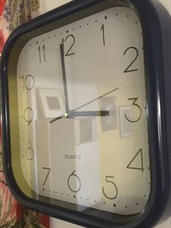 Vintage Mod Space Age Plastic Wall Clock for Sale in Los Angeles,  CA