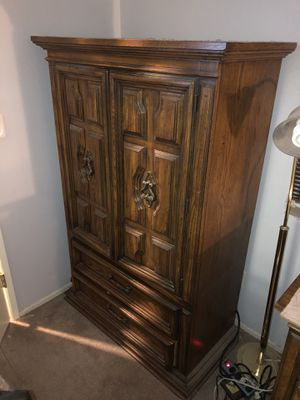 """Vintage Solid Wood Furniture Set """"Motivated Seller"""" for Sale in Rolling Hills, CA"""