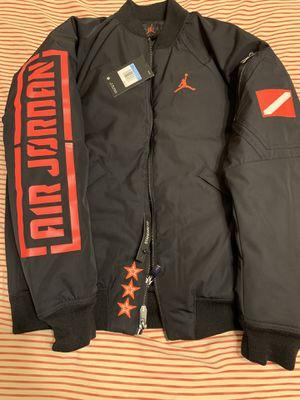 Brand new with tags Jordan jacket size men's medium for Sale in San Antonio, TX