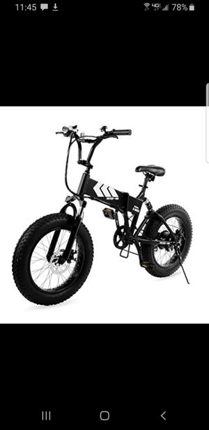 Fat tire folding E-Bike electric bicycle for Sale in San Diego, CA