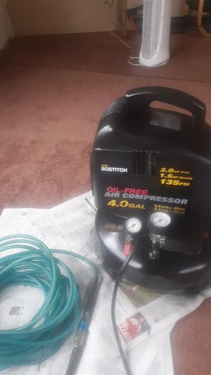 Bostitch pancake air compressor for Sale in Egg Harbor City, NJ