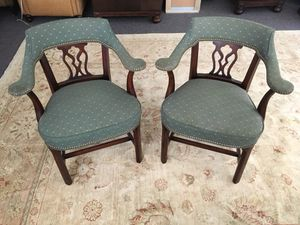 Antique green chairs for Sale in Philadelphia, PA