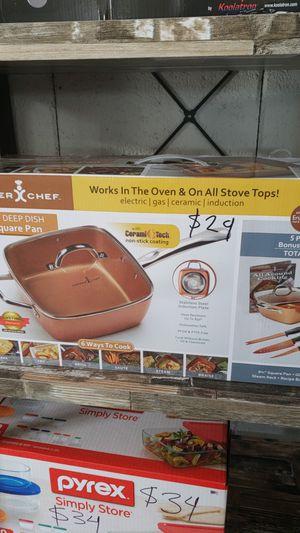 Copper Chef 9 inch Deep Dish Square Pan for Sale in Dallas, TX