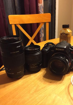 Sony a350 dslr for Sale in Stone Mountain, GA