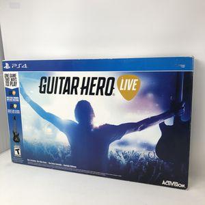 PS4 Guitar Hero Live Bundle for Sale in Chula Vista, CA