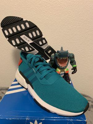 Adidas Size 12 POD-S3.1 Men Shoes Rare Color Blast Emerald-Core for Sale in San Jose, CA