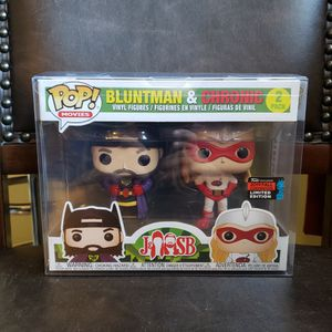 Funko Pop Bluntman & Chronic 2pack 2019 Fall Convention Limited Edition (POP PROTECTOR) for Sale in Ontario, CA