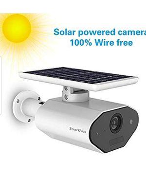Solar wireless camera and installation for Sale in Marietta, GA