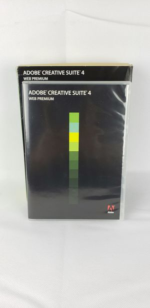 Adobe Creative Suite 4 Web Premium Mac OS for Sale in Phoenix, AZ