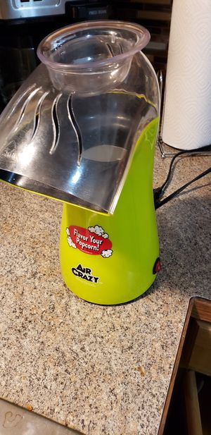 Air popcorn popper for Sale in Post Falls, ID