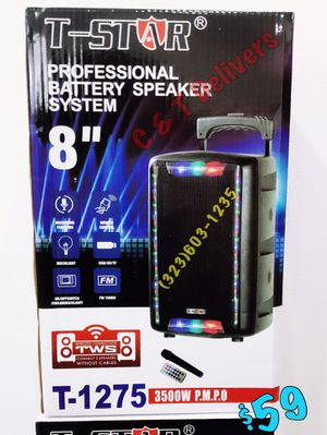 Wireless 🎤 W/ Big Sound 💥 Portable Bluetooth Speaker • Loud - 3,500 Watts* 💥 Mucho Party for Sale in Compton, CA