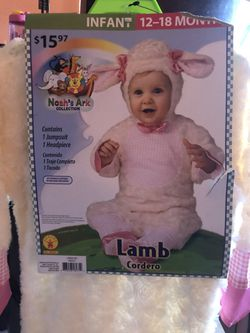 Size 12-18 months Lamb costume for Sale in Salinas,  CA