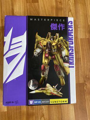 Transformers masterpiece Decepticon Sunstorm MP-05 figure Toys R Us Exclusive for Sale in Anaheim, CA