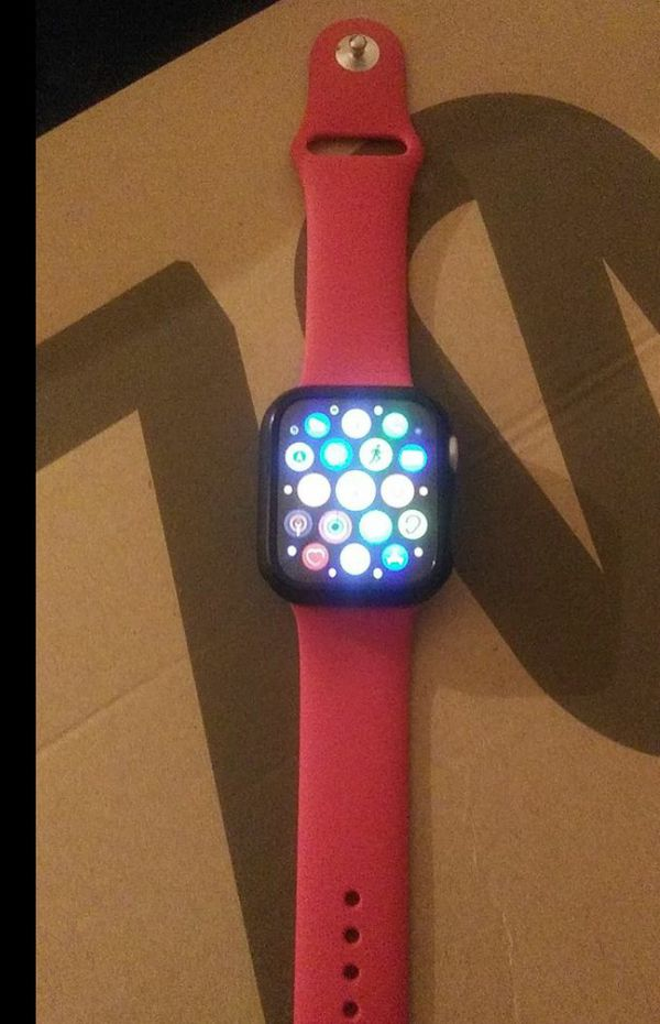 Apple Watch Series 5 44mm Red Band Brand New
