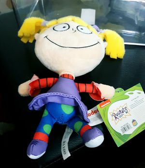 Plush Angelica from Nickelodeon's Rugrats w Tags! for Sale in Garden City, MI