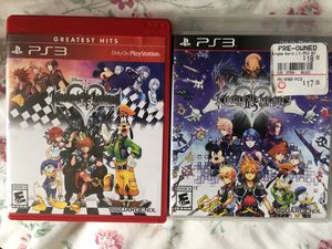 Kingdom Hearts 1 & 2 (Playstation 3) for Sale in Fairfax, VA