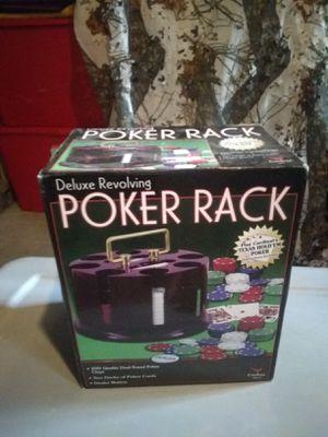 Cardinal deluxe revolving poker set for Sale in Lancaster, NY