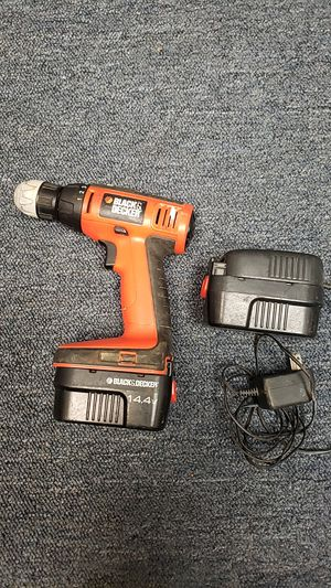 Black & Decker drill 14.4v for Sale in Woodbury, NJ