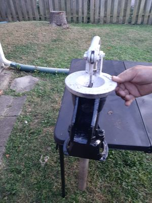 Antique Cast Iron Pump for Sale in Indianapolis, IN