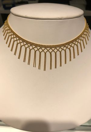 14k Fancy Cleopatra necklace, new for Sale in San Diego, CA