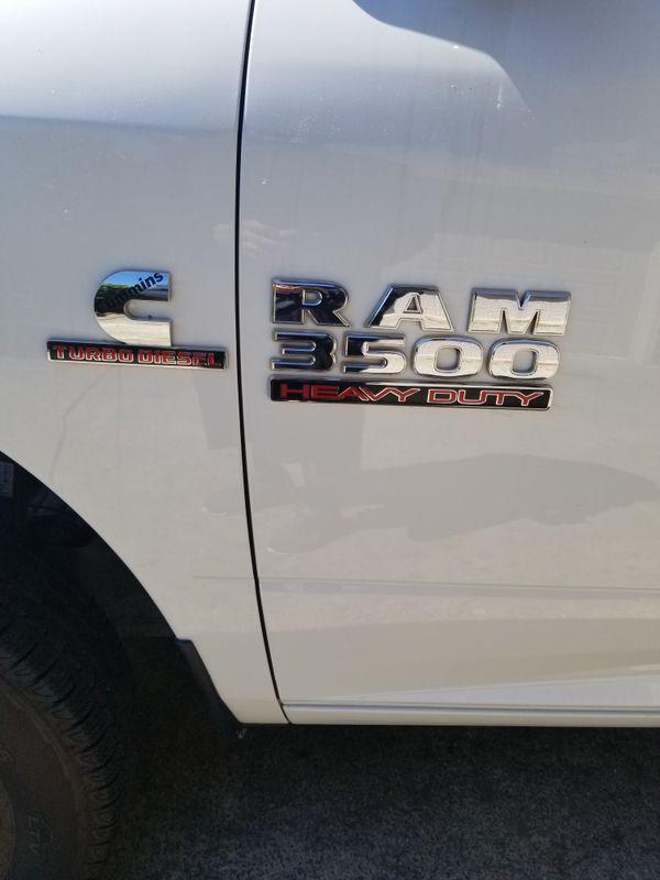 2018 Ram dually 3500...