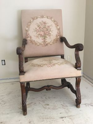 Antique tapestry chairs for Sale in Bellevue, WA