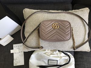 Gucci Marmont Matelasse mini bag - Dusty Pink for Sale in Irvine, CA