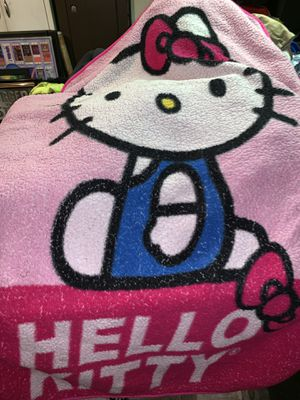 Hello kitty kids blanket for Sale in South Park Township, PA