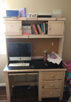 Hard wood kids computer and homework desk for Sale in Garner, NC