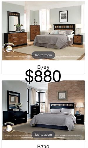Free delivery 8 piece bedroom set new!!!!! With mattress and box spring for Sale in Chicago, IL