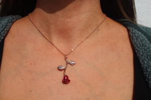 Rose Pendant necklace (Rose Gold) for Sale in MONARCH BAY, CA