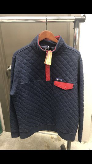 Patagonia Organic Cotton Quilt Snap-T Pullover (Men's Large). Brand New with Tags for Sale in Tacoma, WA