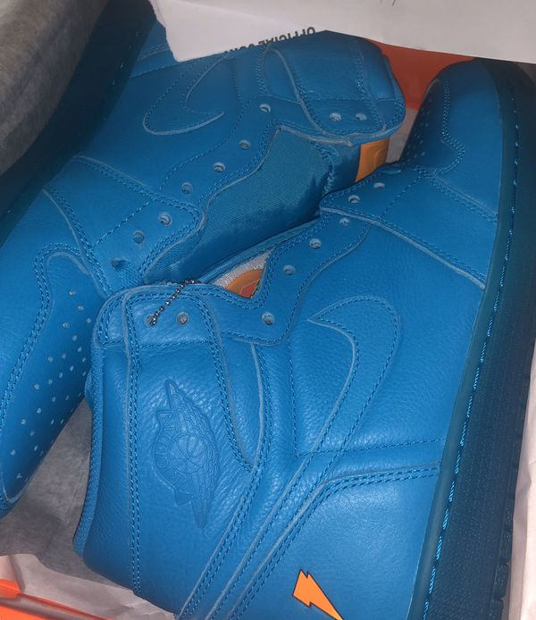 Air Jordan 1 Blue Gatorade size 13
