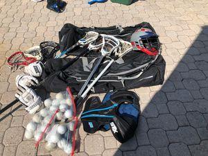 Lacrosse equipment for Sale in Eustis, FL