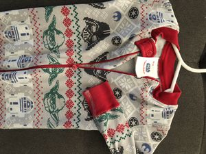 3-9 months old baby Christmas star war pajama, very cute, Hanna Anderson for Sale in Seattle, WA