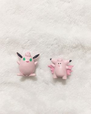 Clefairy and Clefable Pokémon Action Figures for Sale in Hacienda Heights, CA